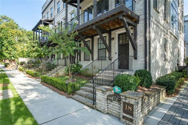 18 NE Peachtree Avenue NE #1, Atlanta, GA 30305 (MLS #6774011) :: Path & Post Real Estate