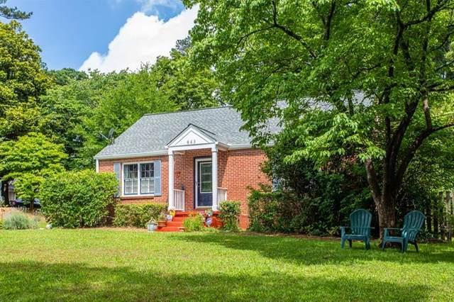 843 Derrydown Way, Decatur, GA 30030 (MLS #6775643) :: Oliver & Associates Realty