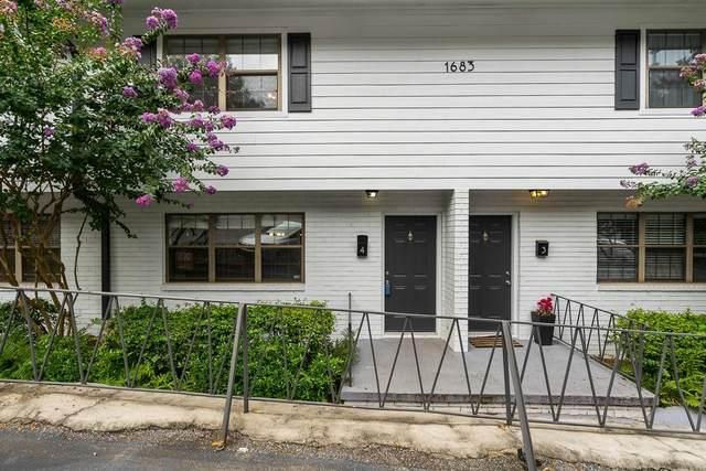 1683 Briarcliff Road NE #4, Atlanta, GA 30306 (MLS #6782765) :: RE/MAX Paramount Properties
