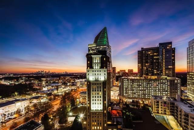 3324 Peachtree Road NE #1910, Atlanta, GA 30326 (MLS #6782920) :: Vicki Dyer Real Estate