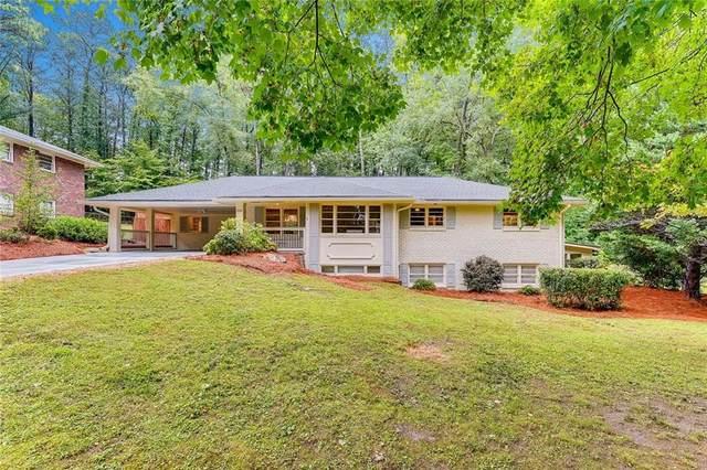 2151 Zelda Drive NE, Atlanta, GA 30345 (MLS #6786917) :: The Heyl Group at Keller Williams