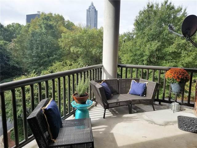 395 Central Park Place NE #210, Atlanta, GA 30312 (MLS #6788296) :: Thomas Ramon Realty