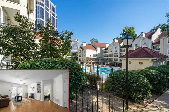 3655 NE Habersham Road NE #124, Atlanta, GA 30305 (MLS #6795957) :: Oliver & Associates Realty