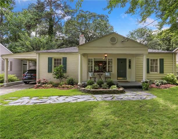 707 Burke Road NE, Atlanta, GA 30305 (MLS #6798899) :: Oliver & Associates Realty
