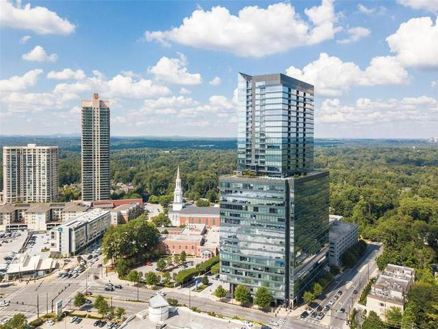 3630 Peachtree Road NE #2808, Atlanta, GA 30326 (MLS #6805103) :: The North Georgia Group