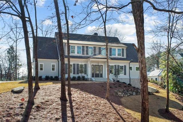 2866 Paces Lake Drive SE, Atlanta, GA 30339 (MLS #6809874) :: The Hinsons - Mike Hinson & Harriet Hinson