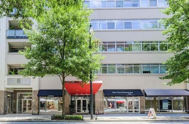 805 Peachtree Street NE #416, Atlanta, GA 30308 (MLS #6823219) :: The Justin Landis Group