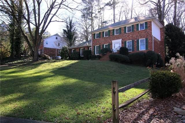 1741 Kellogg Springs Drive, Dunwoody, GA 30338 (MLS #6828024) :: RE/MAX Paramount Properties
