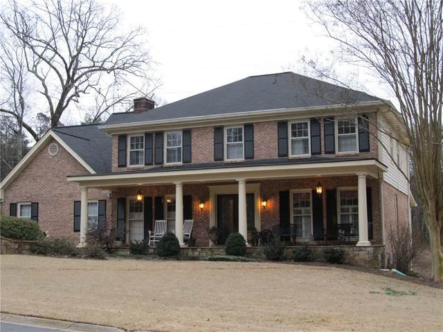 1843 Leiden Court, Dunwoody, GA 30338 (MLS #6840738) :: The Kroupa Team | Berkshire Hathaway HomeServices Georgia Properties