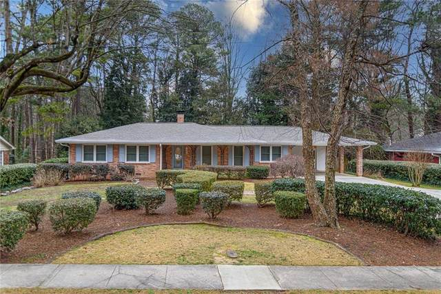 1543 Knob Hill Drive NE, Atlanta, GA 30329 (MLS #6841483) :: Path & Post Real Estate