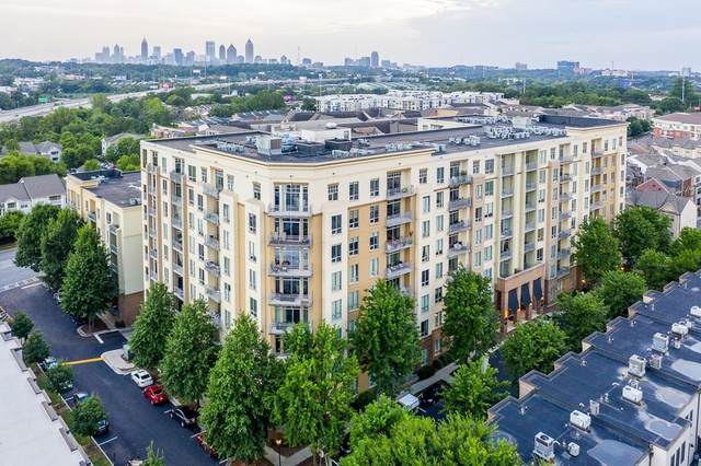711 Cosmopolitan Drive #318, Atlanta, GA 30324 (MLS #6842337) :: The Cowan Connection Team