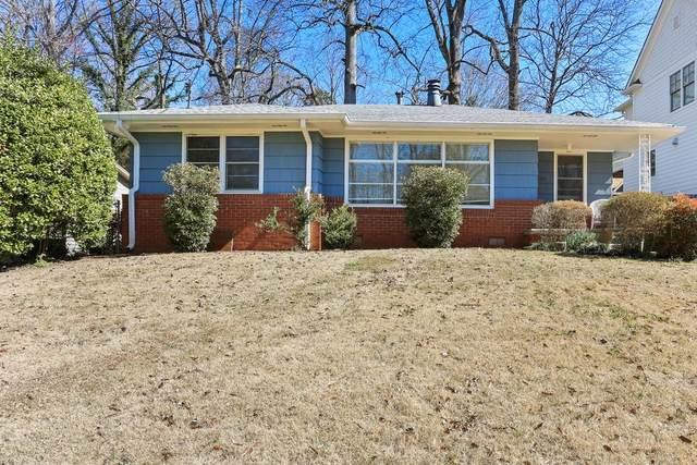 1381 Wessyngton Road NE, Atlanta, GA 30306 (MLS #6843761) :: Thomas Ramon Realty