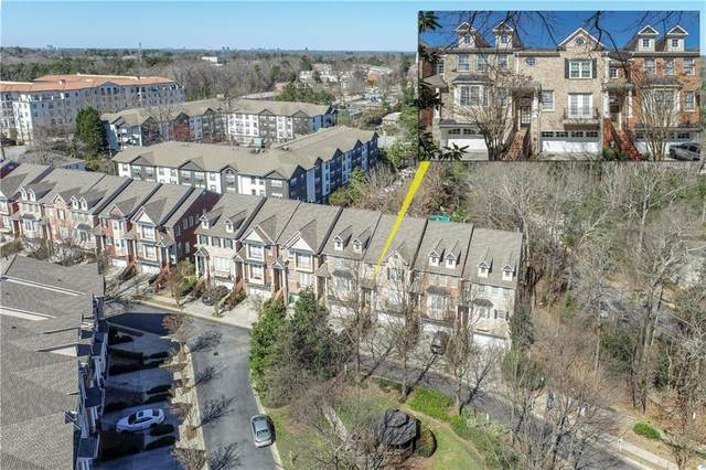 1021 Emory Parc Place #1021, Decatur, GA 30033 (MLS #6844408) :: The Cowan Connection Team