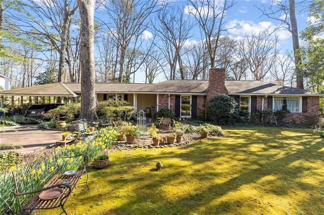 1280 Moores Mill Road NW, Atlanta, GA 30327 (MLS #6844450) :: The Butler/Swayne Team