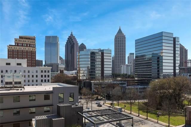 1421 Peachtree Street NE #401, Atlanta, GA 30309 (MLS #6850078) :: Good Living Real Estate