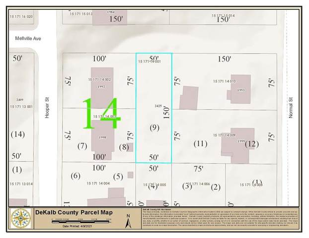 2425 Mellville Avenue, Decatur, GA 30032 (MLS #6864562) :: Path & Post Real Estate
