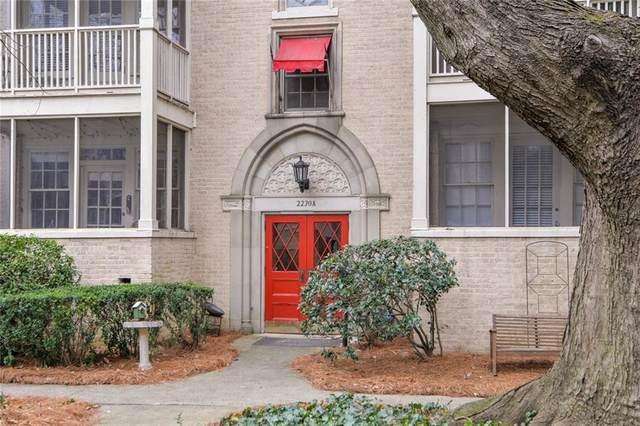 2230 Peachtree Road NW A4, Atlanta, GA 30309 (MLS #6866681) :: Kennesaw Life Real Estate