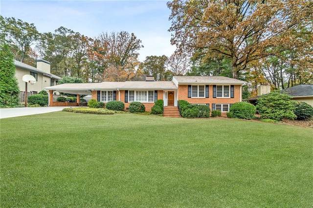 340 Forest Hills Drive, Sandy Springs, GA 30342 (MLS #6872089) :: North Atlanta Home Team