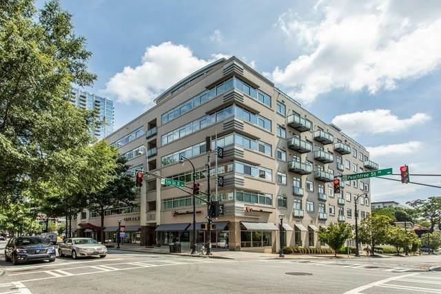 805 Peachtree Street NE #604, Atlanta, GA 30308 (MLS #6872486) :: Path & Post Real Estate