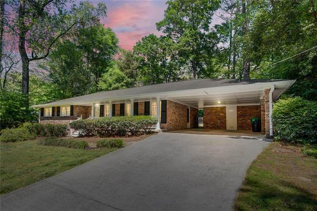 2047 Silvastone Drive NE, Atlanta, GA 30345 (MLS #6873386) :: North Atlanta Home Team