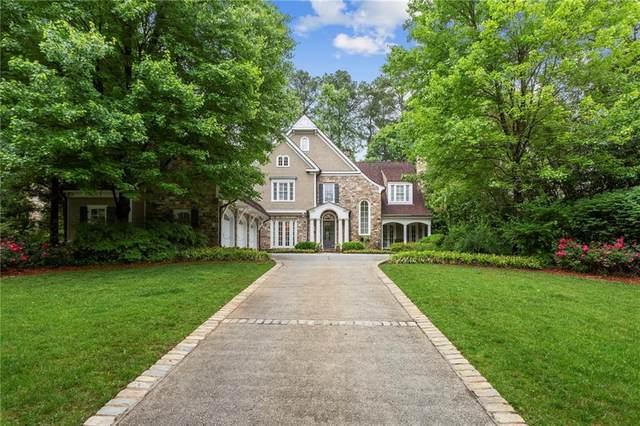 4564 Club Drive NE, Atlanta, GA 30319 (MLS #6878879) :: Kennesaw Life Real Estate