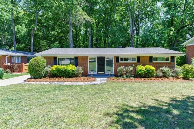 2167 Fairway Circle NE, Brookhaven, GA 30319 (MLS #6880034) :: North Atlanta Home Team