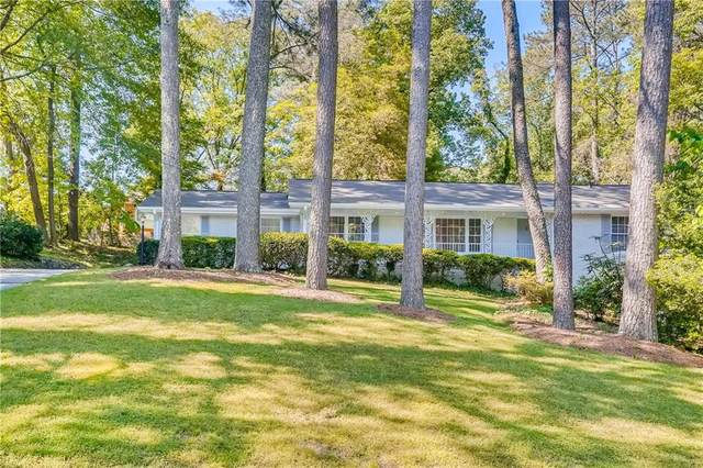3107 Kingscliff Way NE, Atlanta, GA 30345 (MLS #6883773) :: Tonda Booker Real Estate Sales