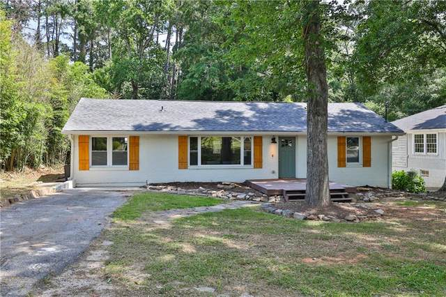 1976 Dering Circle NE, Atlanta, GA 30345 (MLS #6884658) :: Kennesaw Life Real Estate
