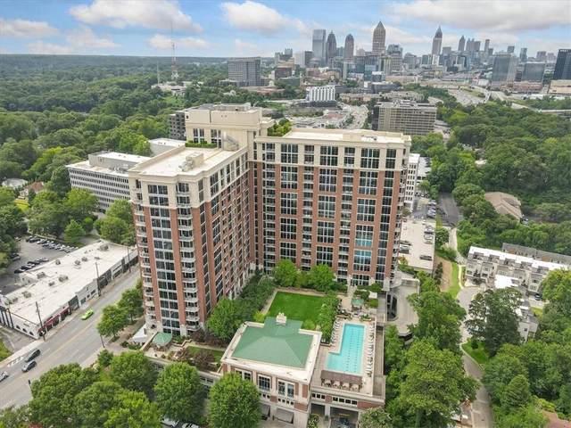 1820 Peachtree Street NW #505, Atlanta, GA 30309 (MLS #6888869) :: Todd Lemoine Team