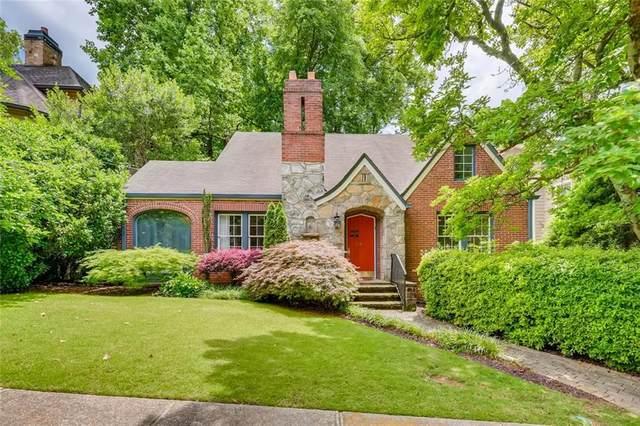 881 Glen Arden Way NE, Atlanta, GA 30306 (MLS #6895313) :: North Atlanta Home Team