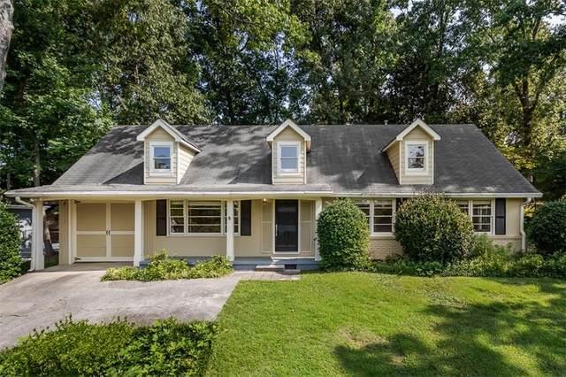 1292 Dunwoody Lane NE, Brookhaven, GA 30319 (MLS #6895925) :: North Atlanta Home Team