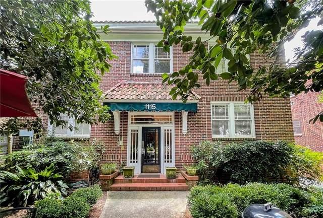 1115 Briarcliff Place NE #2, Atlanta, GA 30306 (MLS #6898515) :: The Huffaker Group