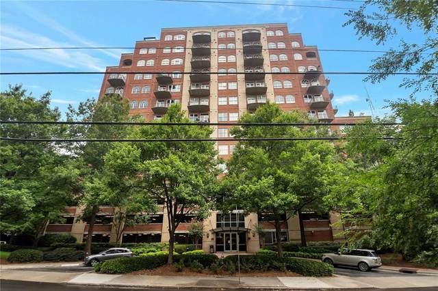3180 Mathieson Drive NE #703, Atlanta, GA 30305 (MLS #6926760) :: Kennesaw Life Real Estate