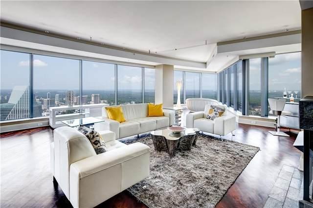 3344 Peachtree Road NE #4101, Atlanta, GA 30326 (MLS #6927671) :: Tonda Booker Real Estate Sales