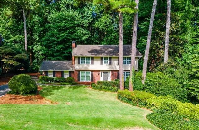 2462 Helmsdale Drive NE, Atlanta, GA 30345 (MLS #6931263) :: Good Living Real Estate