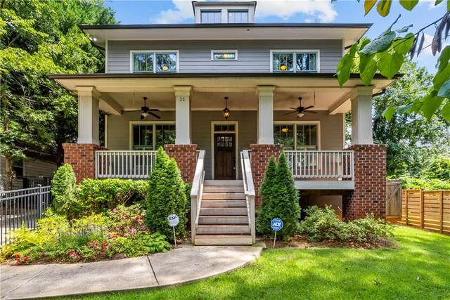 11 Screven Street NE, Atlanta, GA 30307 (MLS #6932602) :: The Hinsons - Mike Hinson & Harriet Hinson