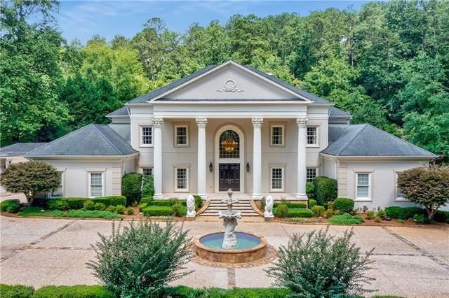 1141 Crest Valley Drive, Sandy Springs, GA 30327 (MLS #6941408) :: North Atlanta Home Team