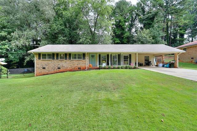460 Beaumont Drive, Stone Mountain, GA 30087 (MLS #6946128) :: RE/MAX Paramount Properties
