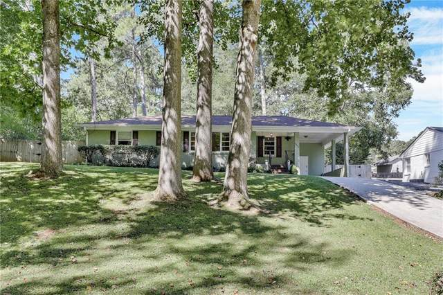 3672 Twin Oaks Drive SE, Smyrna, GA 30080 (MLS #6946935) :: The Kroupa Team | Berkshire Hathaway HomeServices Georgia Properties