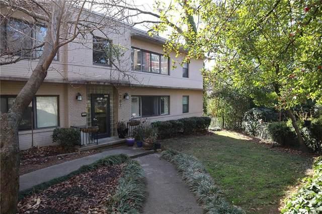 282 Ardmore Circle NW #6, Atlanta, GA 30309 (MLS #6947287) :: Tonda Booker Real Estate Sales