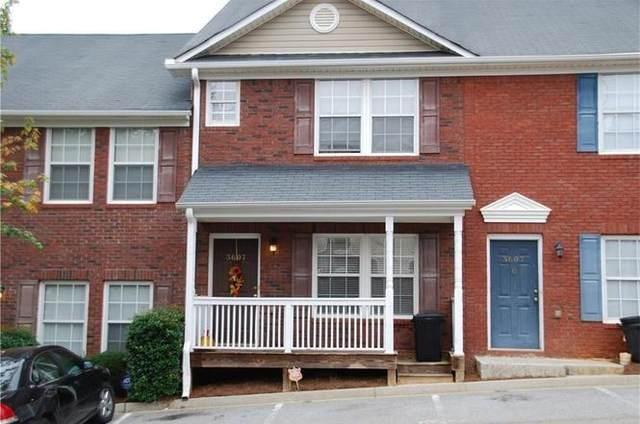 3607 Ginnis Drive SW #5, Atlanta, GA 30331 (MLS #6947413) :: Atlanta Communities Real Estate Brokerage