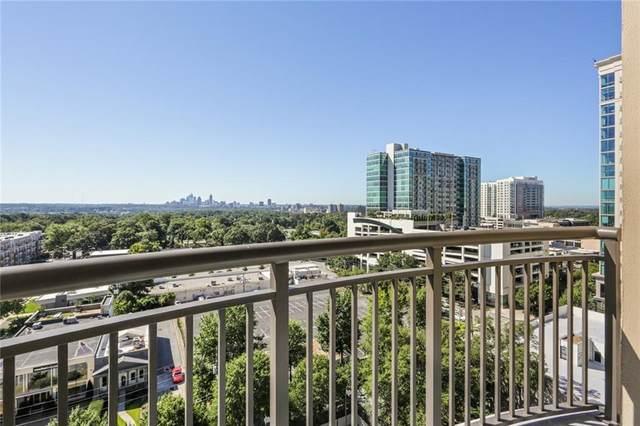 325 E Paces Ferry Road #1408, Atlanta, GA 30305 (MLS #6947880) :: RE/MAX Paramount Properties