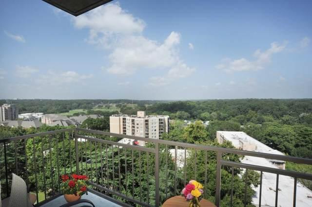 2233 Peachtree Road NW #1202, Atlanta, GA 30309 (MLS #6948162) :: The Kroupa Team | Berkshire Hathaway HomeServices Georgia Properties