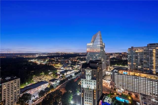 3324 Peachtree Road NE #2916, Atlanta, GA 30326 (MLS #6951831) :: The Kroupa Team | Berkshire Hathaway HomeServices Georgia Properties