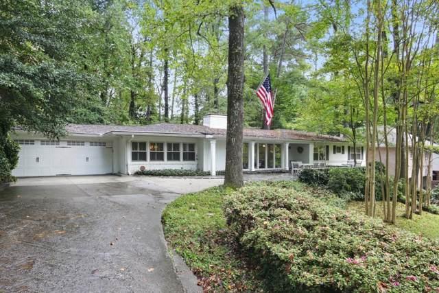 2805 Queensbury Lane NW, Atlanta, GA 30305 (MLS #6955123) :: The Kroupa Team | Berkshire Hathaway HomeServices Georgia Properties