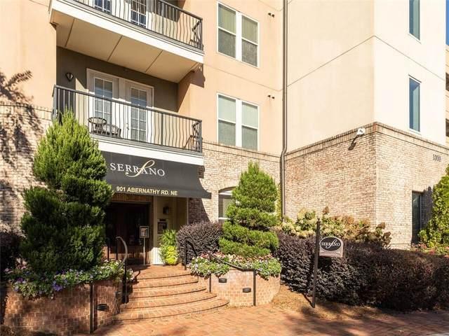 901 Abernathy Road NE #3250, Atlanta, GA 30328 (MLS #6962166) :: Tonda Booker Real Estate Sales