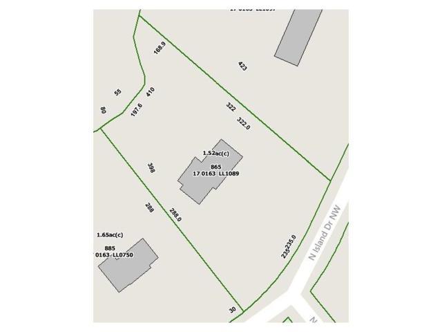 865 N Island Drive, Sandy Springs, GA 30327 (MLS #5779005) :: North Atlanta Home Team