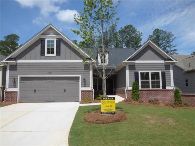 2243 Long Bow Chase NW, Kennesaw, GA 30144 (MLS #5799394) :: North Atlanta Home Team