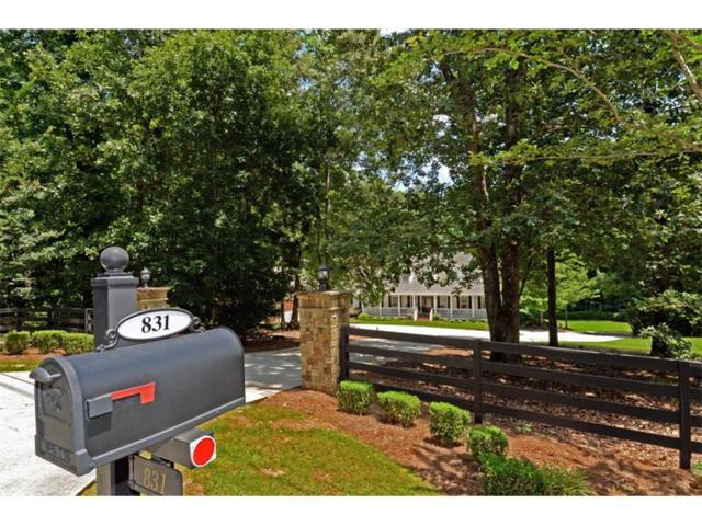 831 Christopher Robin Road, Alpharetta, GA 30005 (MLS #5894537) :: North Atlanta Home Team