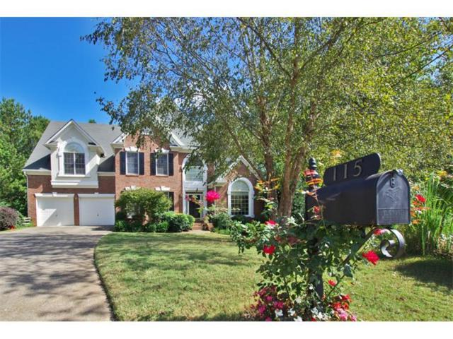 115 Redleaf Court, Alpharetta, GA 30005 (MLS #5917401) :: North Atlanta Home Team